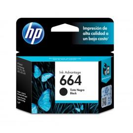 TINTA HP F6V29AL 664 BLACK
