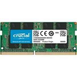 CRUCIAL MEMORIA 16GB DDR4 3200 SODIMM PC4-25600 CL22 SIN BÚFER NO ECC 1.2V