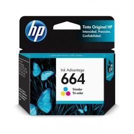 TINTA HP F6V28AL 664 TRICOLOR